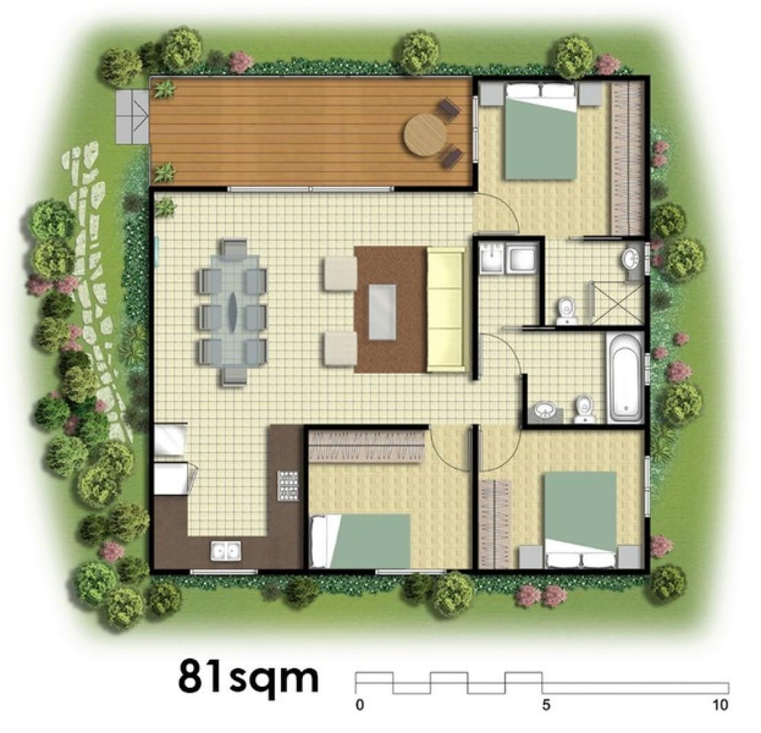81sqm Plans
